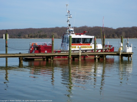 Fairfax County Fire & Rescue boat