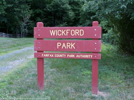 Signage at Wickford Park