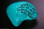 "Keep/hide. Post on Facebook @ ""Sydenstricker UMC Rocks."""